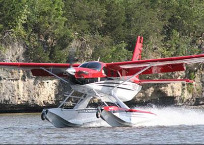 Helping Aircraft Floats Float Better