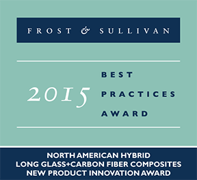 Frost & Sullivan Recognizes PlastiComp with New Product Innovation Award for Hybrid Composites