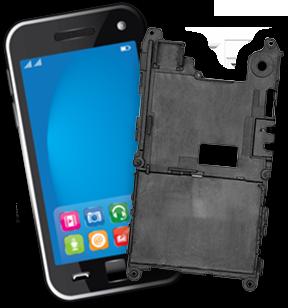 EMI Shielding Mobile Phone Bracket